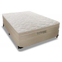Cama Box+Colchão Queen Size Pro Dormir Ensacado Euro Pillow 158x198x47