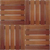 Placa Deck Avulso 50x50: Kit 80 Placas De Madeira Tradição