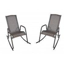 Par De Cadeiras De Balanço Aconchego Wj Móveis