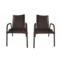 Par De Cadeiras De Varanda Ideale Wj Móveis