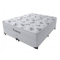 Cama Box+Colchão Queen Size Pro Dormir Prolasti Euro Pillow 158x198x55