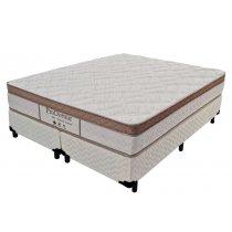Cama Box+Colchão Queen Size Pro Dormir Probel Naturale 158X198X55