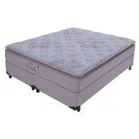 Cama Box+Colchão De Casal King Size Probel Parati Visco 1930x2030x0530
