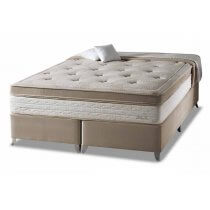 Cama Box+Colchão King Size Eruditto One Side Pillow Herval 193x203x64