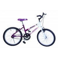 Bicicleta Aro 20 F. Milla Violeta C/ Branco Dalannio Bike